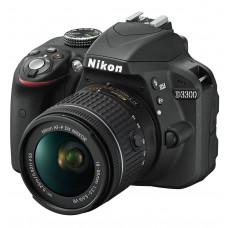 Фотоаппарат NIKON D3300 AF-P 18-55 VR Black (VBA390K008)