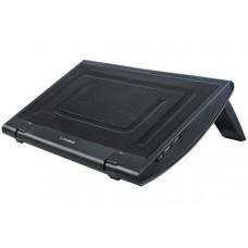 Подставка для ноутбука Xilence 200 mm fan, 15 black (XPLP-M600.B)