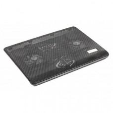 Подставка для ноутбука Gembird 2x80 mm fan, 17 black